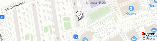 ЦВЕТЫ & ПОДАРКИ на карте Балашихи