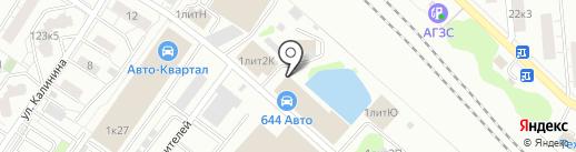 Всем дом на карте Люберец