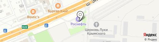 АЗС BP на карте Балашихи