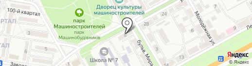 Магазин бижутерии и сувениров на карте Ясиноватой