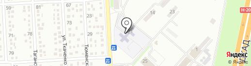 Детский сад №158 на карте Макеевки