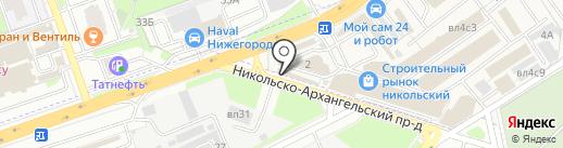 1001stoleshka.ru на карте Балашихи
