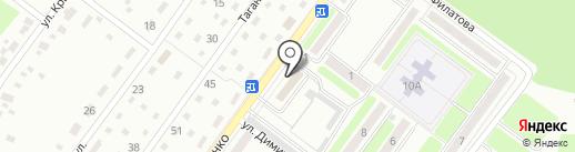 Червоногвардейский РЭС на карте Макеевки