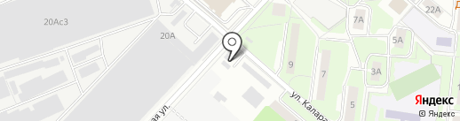 Автотехцентр на карте Люберец