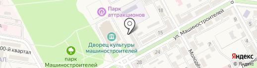 Ясиноватская государственная нотариальная контора на карте Ясиноватой
