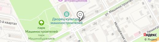 Украина на карте Ясиноватой