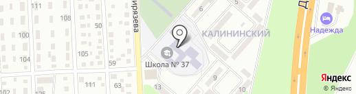Полония на карте Макеевки