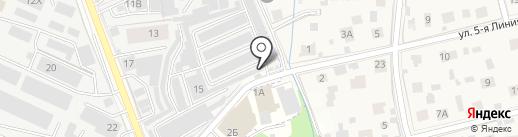 Зеркало на карте Реутова
