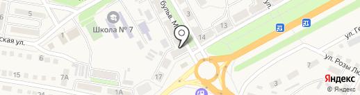Нова Пошта на карте Ясиноватой