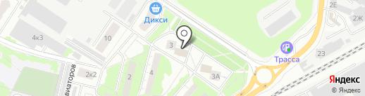 ЛюберКомпОфис на карте Люберец