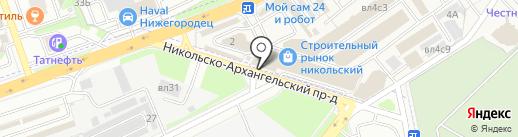 Магазин электротоваров на карте Балашихи