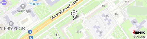 Адвокатский кабинет Жеребчиковой О.В. на карте Старого Оскола