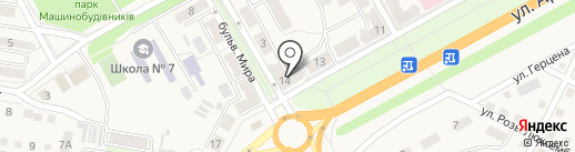 Бригадир на карте Ясиноватой