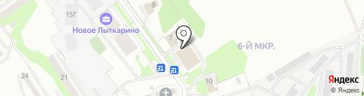КПД-МОС на карте Лыткарино