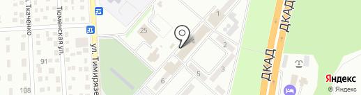 Почтовое отделение связи №7 на карте Макеевки