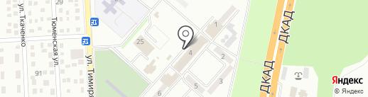 Бункер на карте Макеевки
