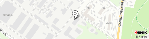 РУСЭКСПОРТ на карте Люберец