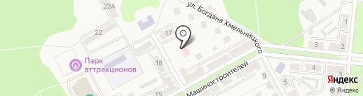 Стоматологическая поликлиника, Ясиноватская центральная районная больница на карте Ясиноватой