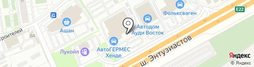 Банкомат, Сбербанк России на карте Балашихи