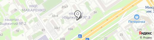 ОсколХлеб-Плюс на карте Старого Оскола