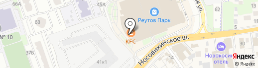 ВафлиЙогурт на карте Реутова