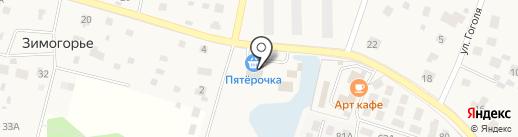 Строймаркет на карте Зеленоградского