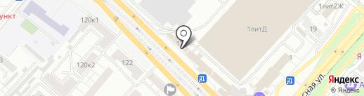 ФОКС на карте Люберец