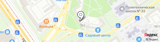 СадСервис на карте Старого Оскола
