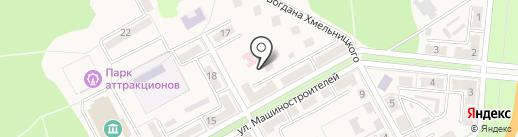 Инесс-Бьюти на карте Ясиноватой