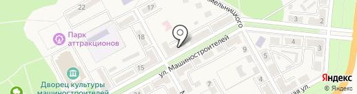Меркурий на карте Ясиноватой