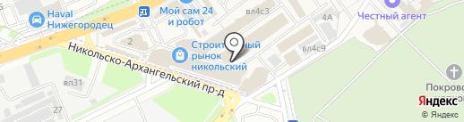 Инфодвери на карте Балашихи