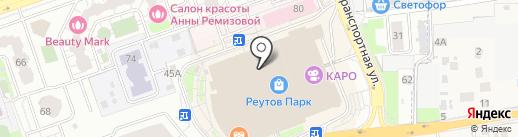 Qiwi на карте Реутова