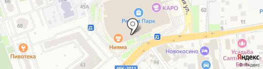 АЙКРАФТ на карте Реутова