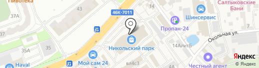 Tenko-Doors на карте Балашихи