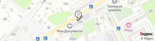 Гринмаркет на карте Люберец