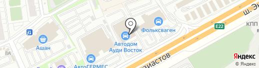 Ауди Центр Audi на карте Балашихи