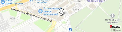 Vlad-doors.ru на карте Балашихи