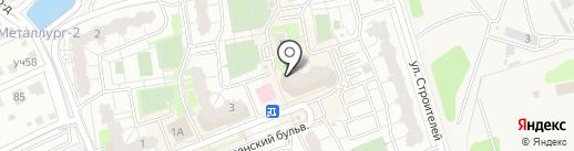 Полярный на карте Балашихи
