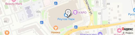 Bond на карте Реутова