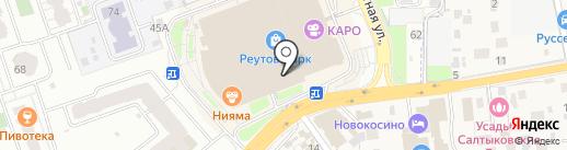 Паровозкино на карте Реутова