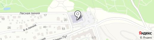 Детский сад №51 на карте Балашихи