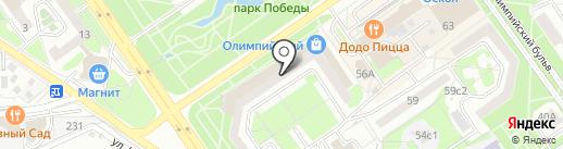 Банкомат, Банк Русский Стандарт на карте Старого Оскола