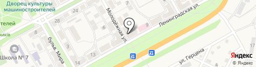 Парикмахерская на карте Ясиноватой