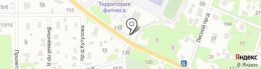 АЗС UNKOIL на карте Королёва