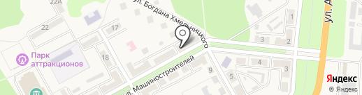 Многопрофильный магазин на карте Ясиноватой