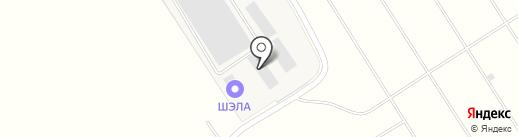ШЭЛА на карте Киреевска