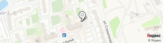 Супермаркет №1 на карте Балашихи