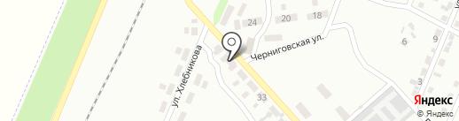 Отделение связи №13 на карте Макеевки