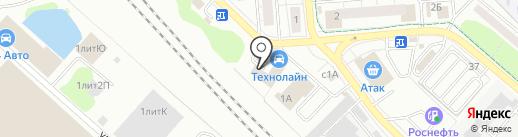 Магазин авто запчестей на карте Люберец