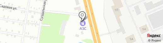 АГЗС Надежда на карте Макеевки